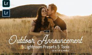 Outdoor Announcement LR Presets 5811806