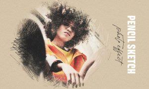 Pencil Sketching Photo Effect DUUSPVF