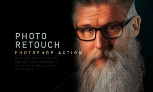 Photo Retouch Photoshop Action 9WBW9CQ