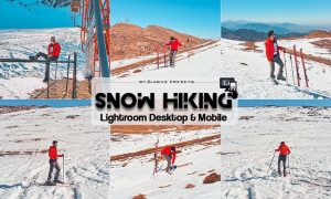 Snow Hiking Lightroom Presets