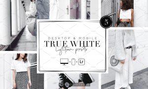 TRUE WHITE - Lightroom Presets 5485157