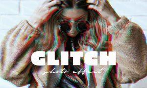 VHS Glitch Effect for Photoshop 76A3SHS