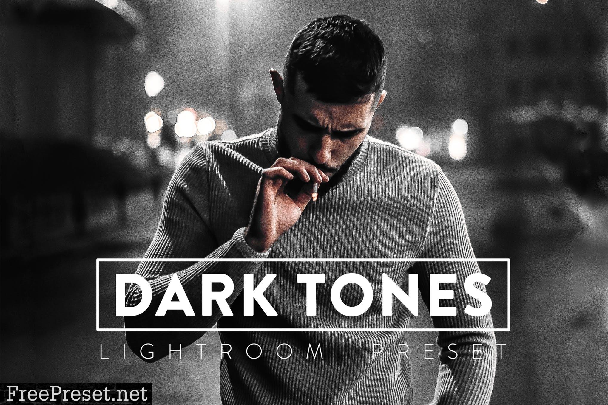 10 Dark Tones Lightroom Presets