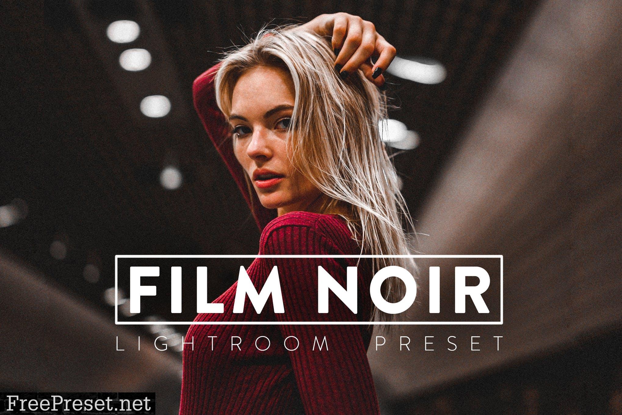 10 Film Noir Lightroom Presets