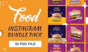 10 Food Instagram Bundle Pack 3673859