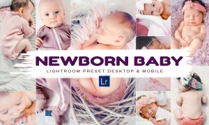 10 Newborn Baby, Lightroom Presets 5878537