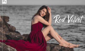 10 Red Velvet Ps Action, ACR, LUT 5892941