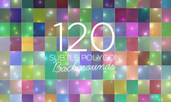 120 Subtle Polygon Backgrounds PTRQKX