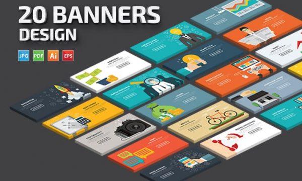 20 Banners Bundle YEMP22