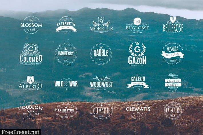20 Vintage Logos NEFEYW