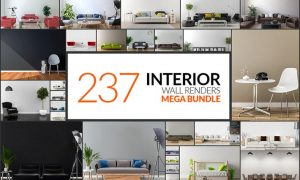 237 Interior Wall Renders - Mega Bundle B9AYXQS