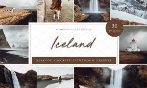 30 x Lightroom Presets, Iceland 5962569