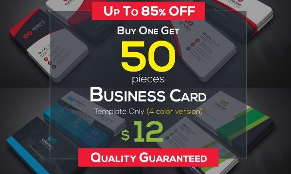 50 Business Cards Bundle 4589907