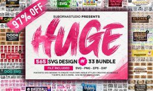 565 Design the Huge 33 Bundles 4020494