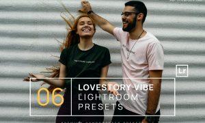 6 Lovestory Vibe Lightroom Presets + Mobile