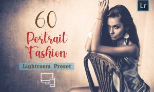 60 Portrait Fashion Lightroom Preset 5922394