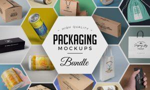 79 Amazing Packaging Mockups Bundle 2984705