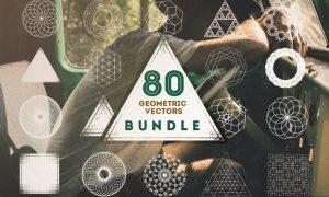 80 Geometric Vectors Bundle M5VZK7