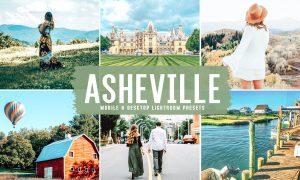 Asheville Mobile & Desktop Lightroom Presets