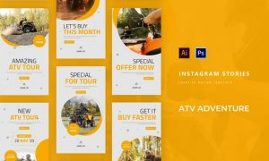 ATV Adventure Instagram Story