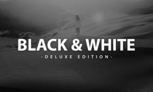 Black & White Deluxe Edition   For Mobile and Desk