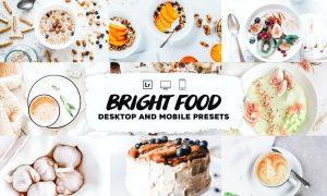 Bright Food Lightroom Presets