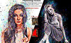 Color Art Effect Photoshop Action 5898461