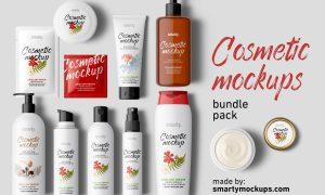 Cosmetic Mockups Bundle Pack 3072576