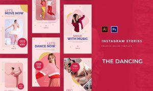 Dancing Academy Instagram Story XTHXFZY