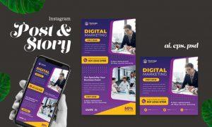 Digital Marketing Instagram Post Story WQ2ZNLX