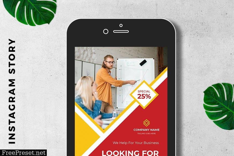Digital Marketing Instagram Story Promotion BJMCEEV