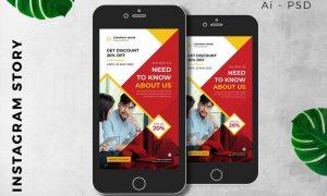 Digital Marketing Instagram Story Promotion JFH4UV6