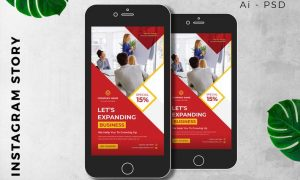 Digital Marketing Instagram Story Promotion MJ79BTK