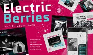 Electric Berries Instagram Pack VMAWG38