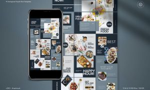Food Minimalist Instagram Puzzle RPZRV7R