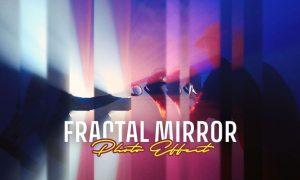 Fractal Mirror Photo Effect