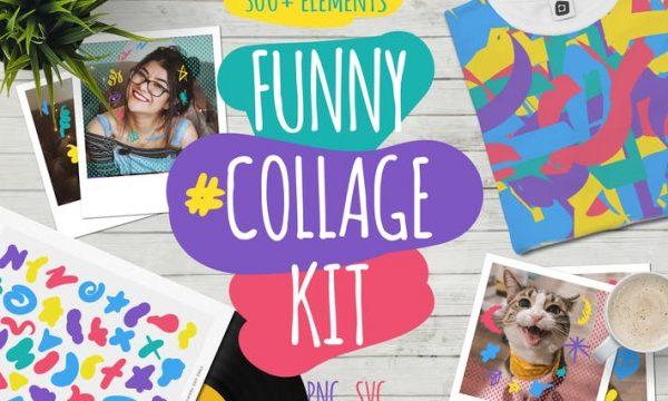 Funny Collage Kit 6N84MEV