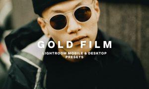 GOLD FILM Lightroom Presets 5924779