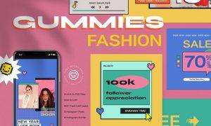 Gummies Fashion Instagram Set SUJJDWX