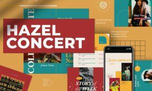 Hazel Concert Podcast Kit UHK9P4B