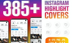 Instagram Highlight Cover Icons 4Q2SK5U