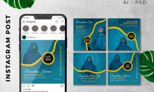 Instagram Post Ramadan Sale Marketing Promotion