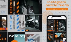 Instagram Puzzle - New style YHAEWPU