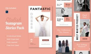Instagram Story Template Vol 05 VG29CST