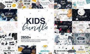 Kids Bundle / Graphic & Patterns 3342752
