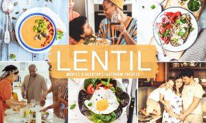 Lentil Mobile & Desktop Lightroom Presets
