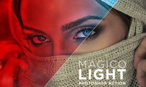 Magico Light Photoshop Action