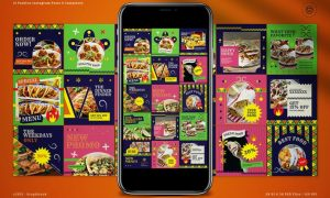 Mexico Food Instagram Pack KN7E58G