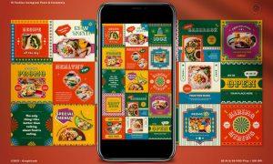 Mexico Food Instagram Pack TBR9LBN