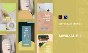 Minima Business Instagram Story WQTEG3U